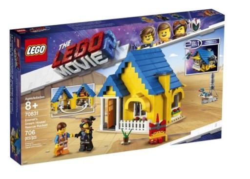 Lego Movie 2 Przygoda 70831 Dom Emmeta Domek 9145873218 Allegro Pl