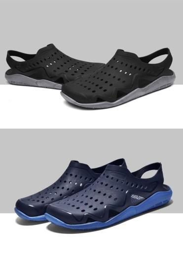 Męskie buty Buty z dziurami sandały r.40 10674002040 Obuwie Męskie Męskie OQ JFYJOQ-9