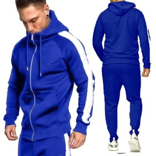 asual jogging męska bluza z kapturem Sweter męski 9813495968 Odzież Męska Swetry VX PKPQVX-2