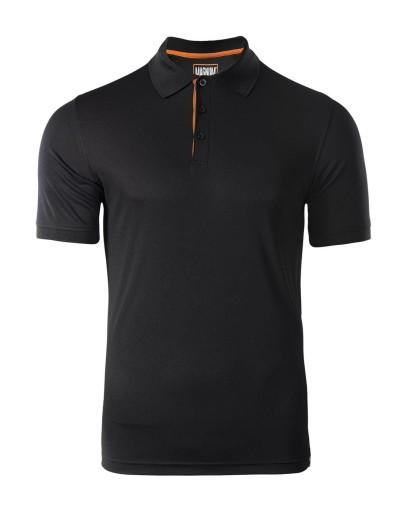 MAGNUM Koszulka MĘSKA POLO BLACK PolÓwka roz. XXL 9539728784 Odzież Męska Koszulki polo KR KVIOKR-6