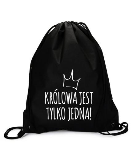 Worek Plecak Nadruk Krolowa Zolza Lobuziara Wzory 9051913858 Allegro Pl