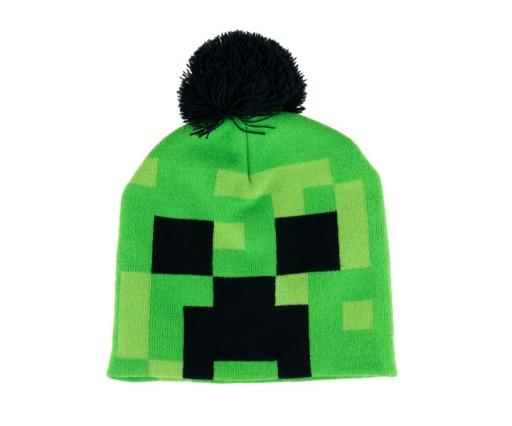 Czapka Zimowa Dla Chlopca Minecraft Creeper 9801655186 Allegro Pl