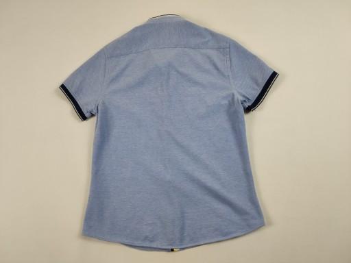 ZARA MUSCLE FIT MĘSKA NIEBIESKA KOSZULA R. S 10757436897 Odzież Męska Koszule BM EEBLBM-6