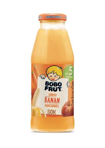 BOBO FRUT sok jabłko banan marchewka 300ml
