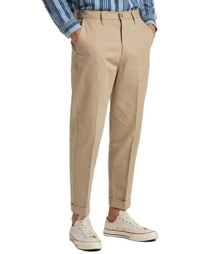Spodnie Lee Chino Tapered L70RLD10 Sand 32/32 10533457138 Odzież Męska Spodnie AT ODGMAT-5