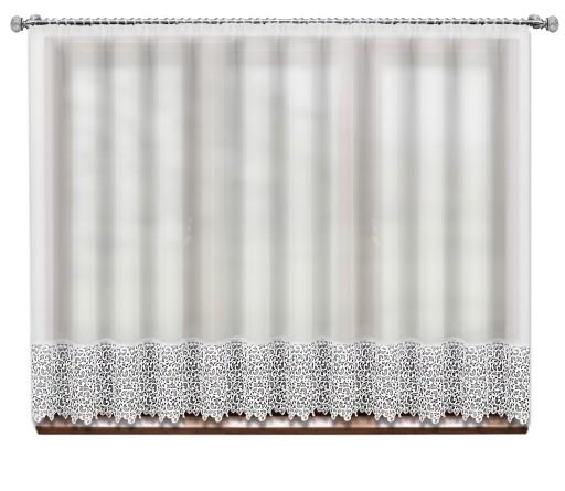 PROSTA FIRANA GOTOWA WOAL GIPIURA 400x170 KORONKA