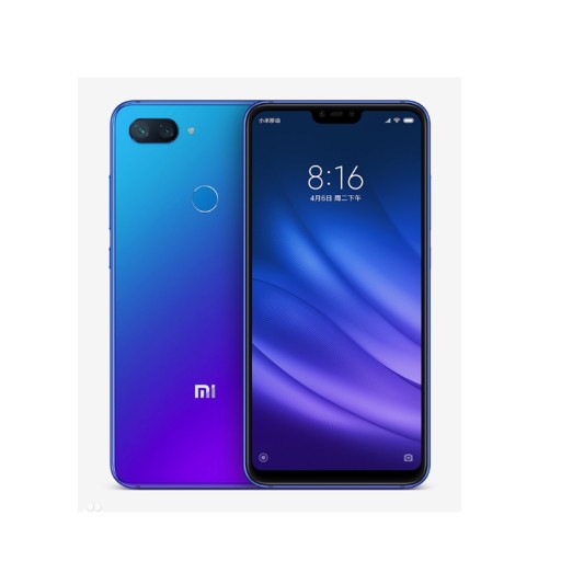 smartfon xiaomi 8 6/128GB Lite niebieski