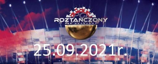 Bilety Roztańczony PGE NARODOWY - 25.09 - Płyta A