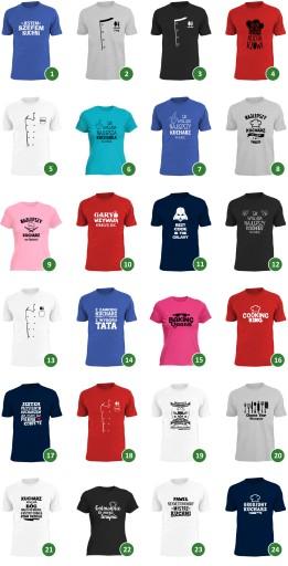 chop chop oryginalne koszulki dla kucharzy gastro 9870526984 Odzież Męska T-shirty SQ AGGDSQ-7