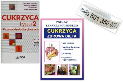 Cukrzyca Typu 2 Przewodnik Dieta Opaska Gumowa 9476405456 Allegro Pl