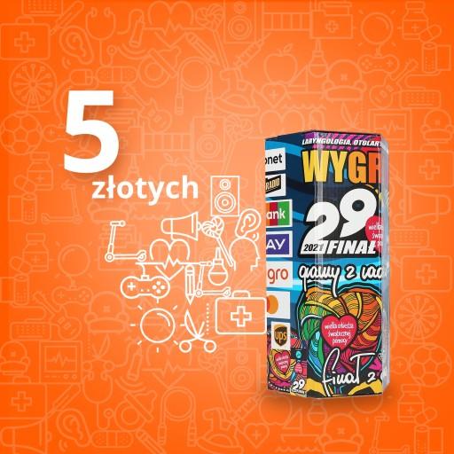 Wirtualna Puszka Wosp 5 Zl Aukcje Wosp Allegro Pl