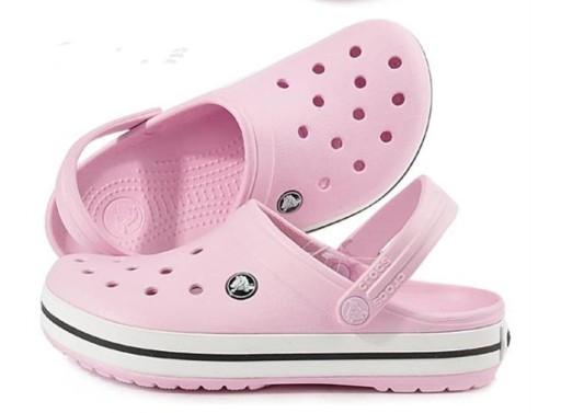 Crocs Klapki sandały buty dziury rÓżowy 10710222205 Obuwie Męskie Męskie VZ NJUOVZ-2