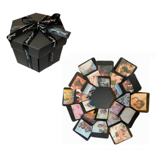 Exploding Box Album Pudełko Prezent na DZIEŃ MATKI
