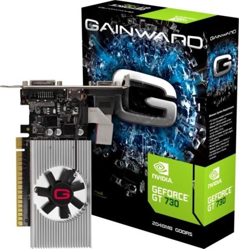 Karta graficzna Gainward GeForce GT 730 2GB GDDR5