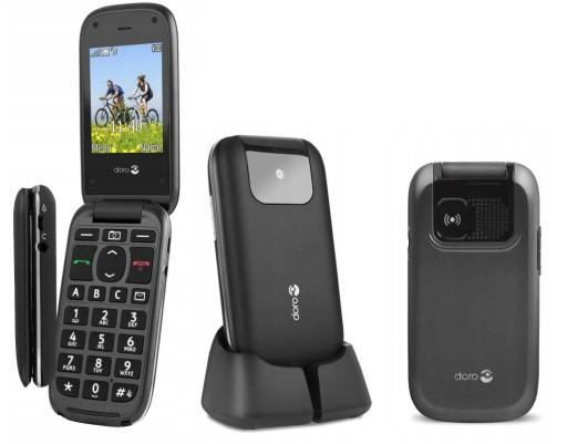 TELEFON DLA SENIORA DORO 613 JĘZYK POLSKI DUŻY LCD