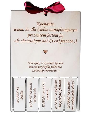 Prezent Na Mikolaja Dla Meza Bon Kupon 9918116555 Allegro Pl