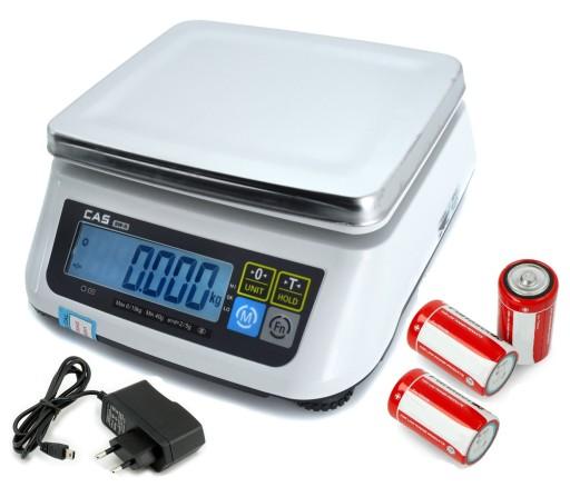 Waga Sklepowa Z Legalizacja 15kg 2g Elektroniczna 9758048827 Allegro Pl