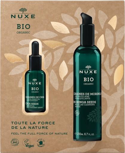 NUXE BIO ZESTAW Serum chia + Woda micelarna GRATIS