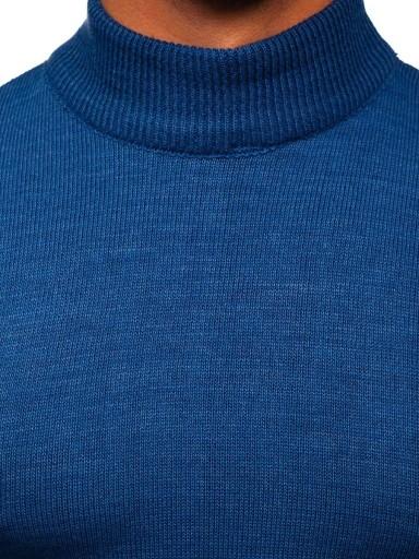 SWETER MĘSKI GOLF GŁADKI NIEBIESKI 4600 DENLEY_XL 9923902997 Odzież Męska Swetry TG LBMOTG-2