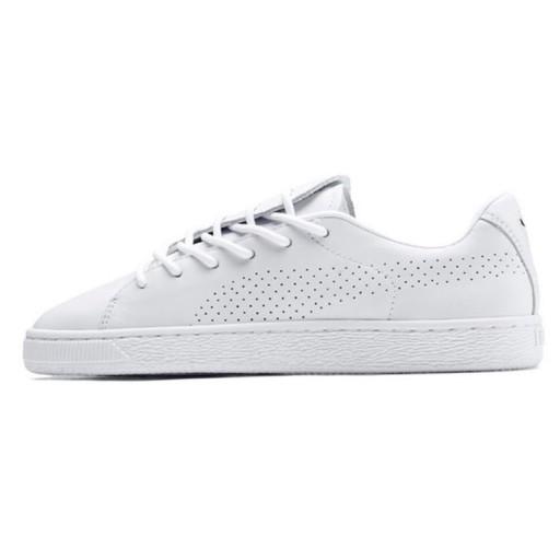 Białe Skórzane Buty Damskie Sportowe Puma rozmiar 37,5