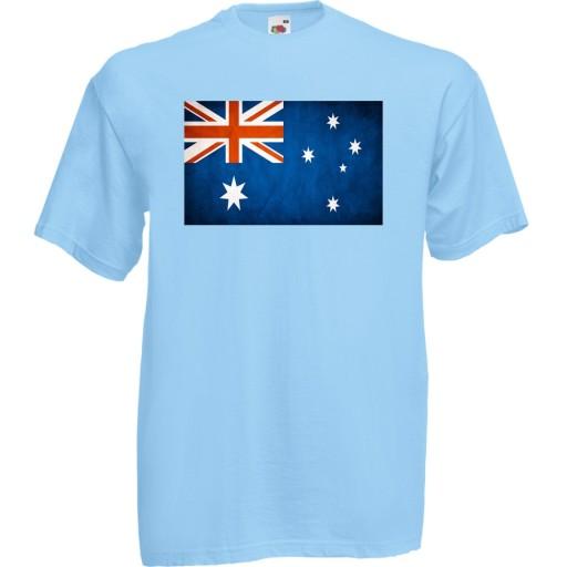 Koszulka z nadrukiem flaga Nowej Zelandii XXL 10520594263 Odzież Męska T-shirty LE OMSMLE-1