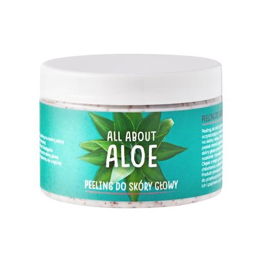 Peeling do skóry głowy, All About Aloe