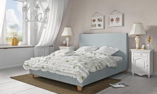 Łóżko tapicerowane Basic 160x200 (WERSJA SLIM)