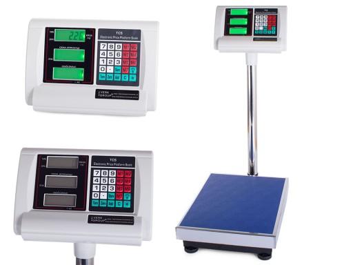 Waga Sklepowa Magazynowa Elektroniczna 100kg 20g 9691410523 Allegro Pl