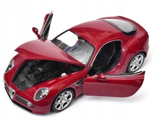 Alfa Romeo 8c Competizione 1 24 Welly 7765051346 Allegro Pl