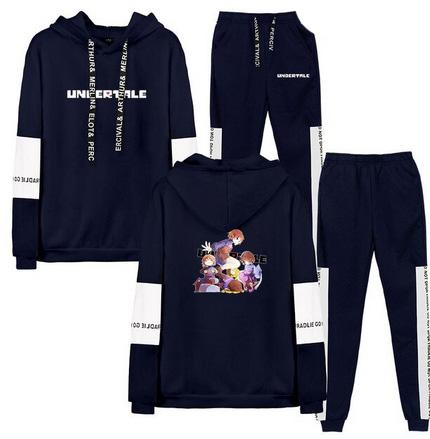 Nowy Męski Set Bluza + Spodnie Undertale XXS 32 10727457357 Odzież Męska Komplety AF QROKAF-2