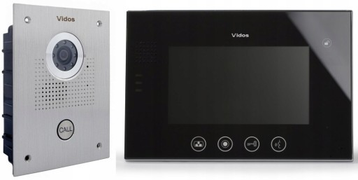 WIDEODOMOFON PODTYNK VIDOS M670S S551 komplet