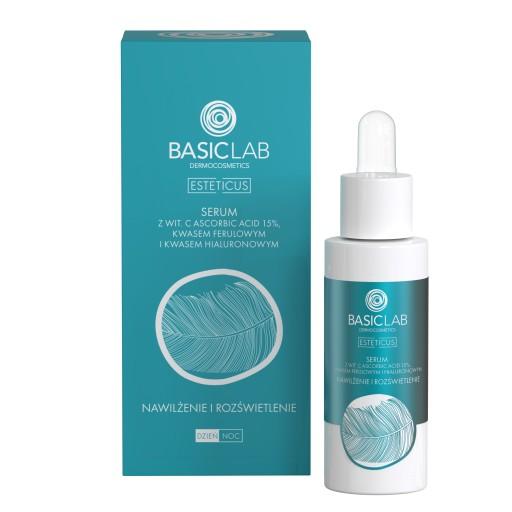 Basiclab Serum Wit C 15 Rozswietlenie Nawilzenie 8568214669 Allegro Pl