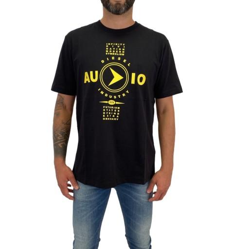T-Shirt Diesel T-JUST-Y2 0091A 900 L 9563894056 Odzież Męska T-shirty ER DCMBER-9