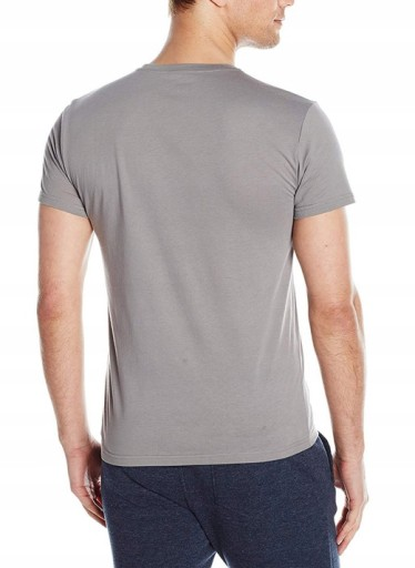 EA Emporio Armani Szary T-shirt Slim Fit Muscle S 9595037201 Odzież Męska T-shirty RD AKORRD-3