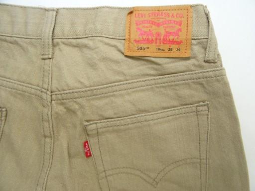 Spodnie jeans Levi's 505 USA W 29 L 29 pas 79 9977096180 Odzież Męska Spodnie UW PZGZUW-7