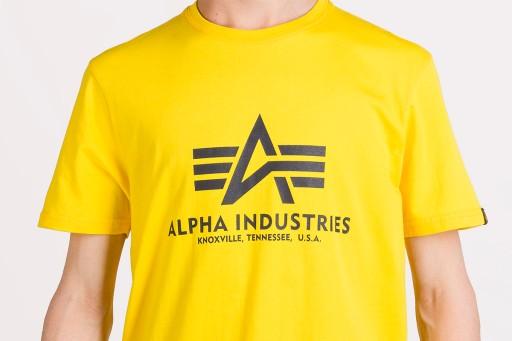 ALPHA INDUSTRIES BASIC 100501465 KOSZULKA MĘSKA 9721490152 Odzież Męska T-shirty BQ MMEEBQ-5