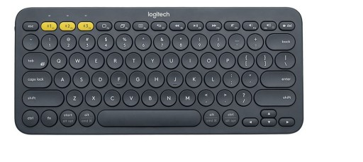 Klawiatura K380 Bluetooth Keyboard Grey 920-007582