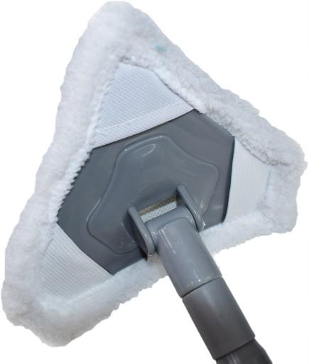 Mop płaski z mikrofibry do kafelek łazienkowy