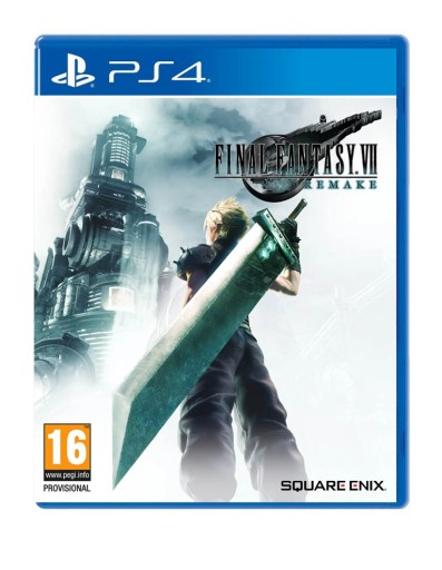 FINAL FANTASY VII REMAKE / GRA PS4 / NOWA W FOLII