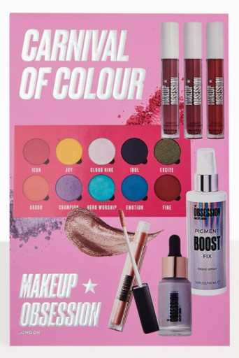 Makeup Obsession Zestaw Carnival Of Colour