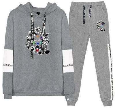 Nowy Męski Set Bluza + Spodnie Undertale XL 42 10742111580 Odzież Męska Komplety XN TXYNXN-6