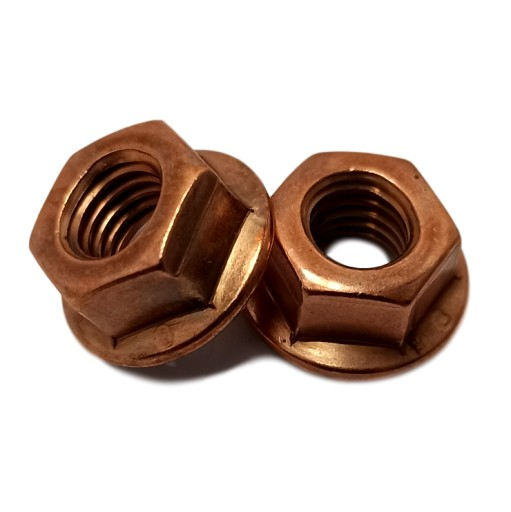 COPPER NUT M8 SYSTEMS EXHAUST 100 PCS