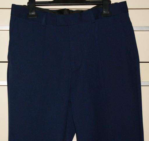 SPODNIE GARNITUROWE MĘSKIE/JR H&M SLIM, 48 (M) 10765258562 Odzież Męska Spodnie DP DUHQDP-3