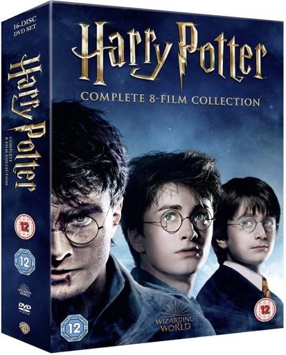 Harry Potter 1 7 16dvd Kolekcja 8 Filmow Dodatki 9040702466 Allegro Pl