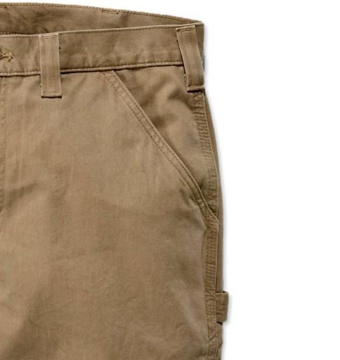 Spodnie Amerykańskie Carhartt Washed Twill Dungare 10612352091 Odzież Męska Spodnie BE YQXEBE-2