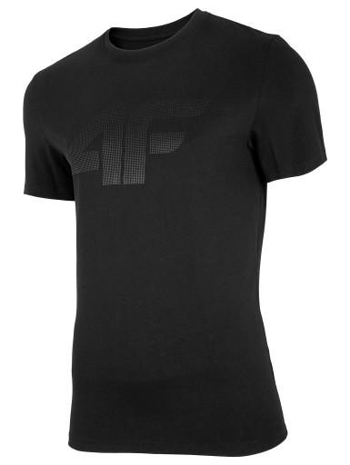 KOSZULKA męska 4F głęboka czerń 2XL 10776696322 Odzież Męska T-shirty AX GHAUAX-6