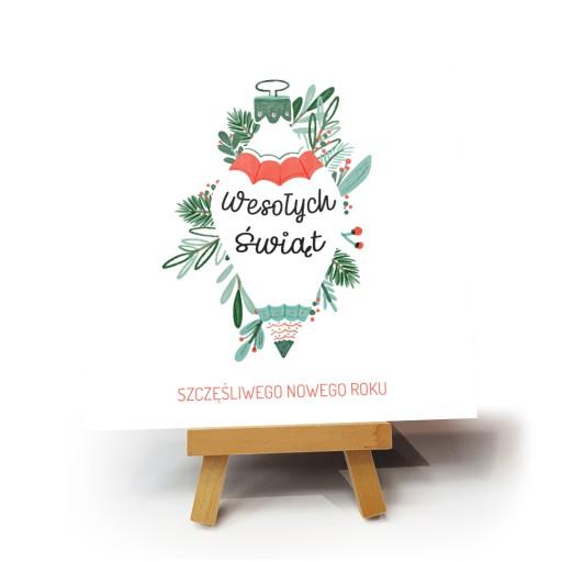 """Kartka bożonarodzeniowa """"Abeto"""""""