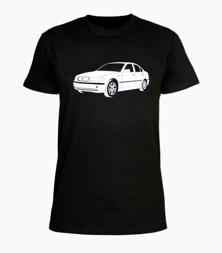 KOSZULKA T-SHIRT BMW E46 AUTO MOTORYZACJA PREZENT 10209107358 Odzież Męska T-shirty XM GBPIXM-9