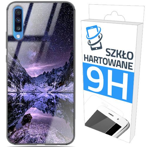 150wzorów ETUI GLASS CASE+SZKŁO SAMSUNG GALAXY A70