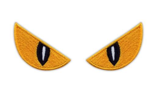 Naszywki Upiorne Oczy, SPOOKY EYES, Halloween HAFT
